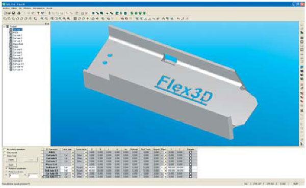 CAD/CAM Software per lavorazione lamiera